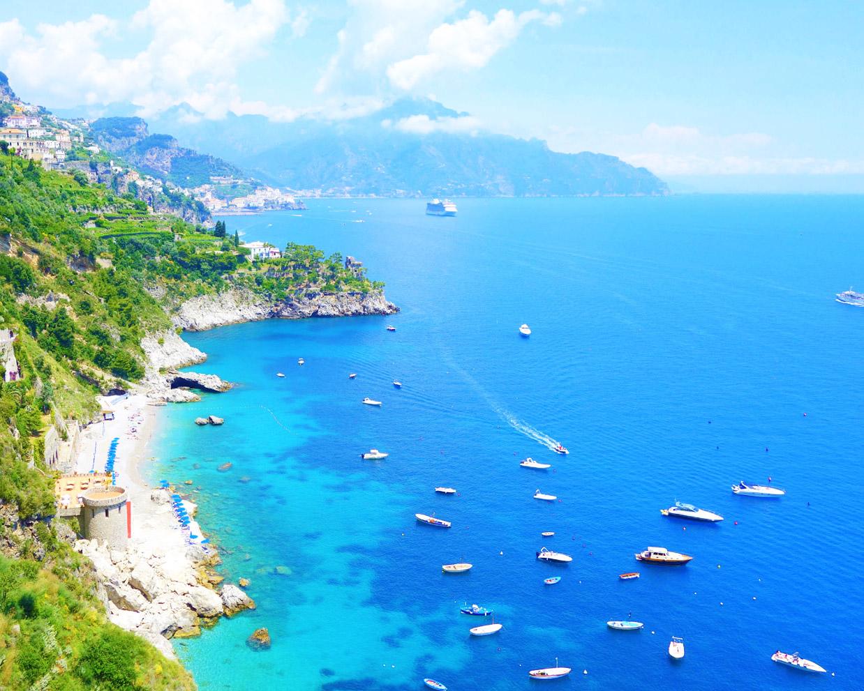 le più belle spiagge della costiera amalfitana